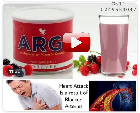 forever Argi plus to increase blood circulation and reduce high blood pressure to normal