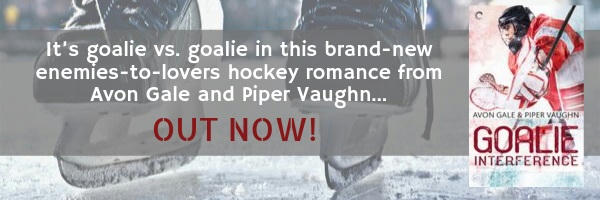 Avon Gale and Piper Vaughn - Goalie Interference Banner 2