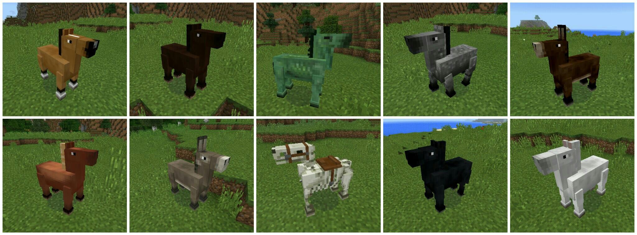 Моды на майнкрафт 1.7.2 про лошадей