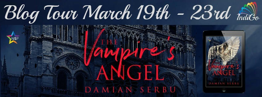 Damian Serbu - The Vampire's Angel BT Banner
