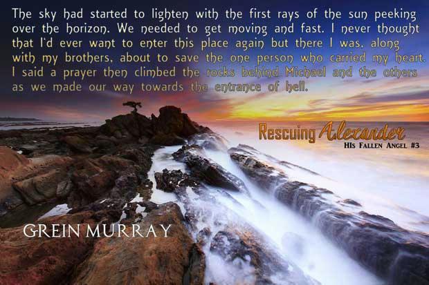 Grein Murray - Rescuing Alexander Teaser 5