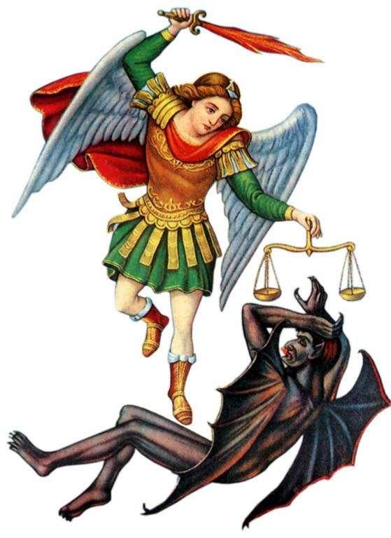 Arcángel San Miguel. Príncipe de los Ejércitos Celestiales.
