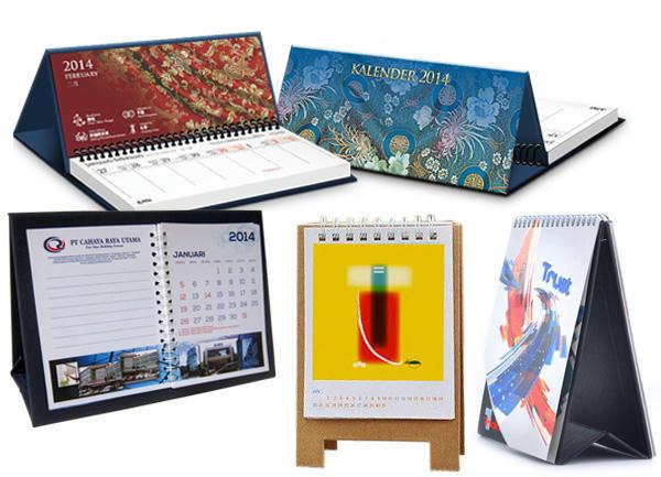 Contoh Desain Kalender Meja Yang Menarik | Creo House