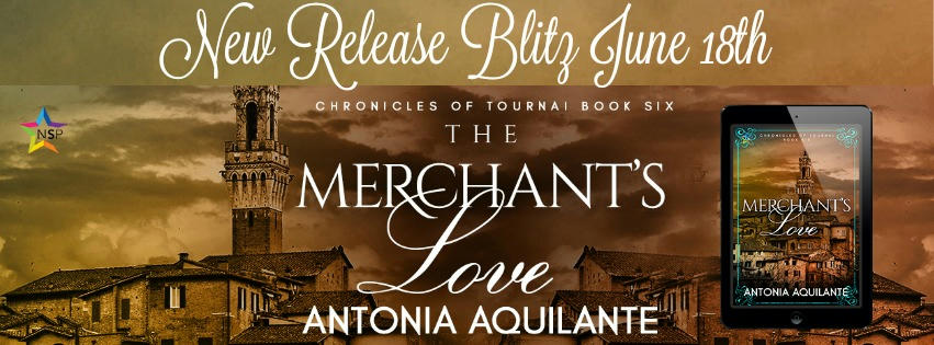 Antonia Aquilante - The Merchant's Love RB Banner