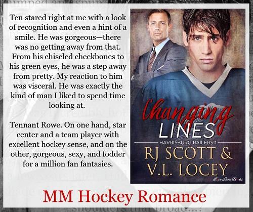 RJ Scott & VL Locey - Changing Lines Teaser