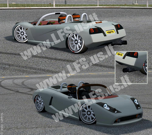 RAC - Sport Racer big Muffler