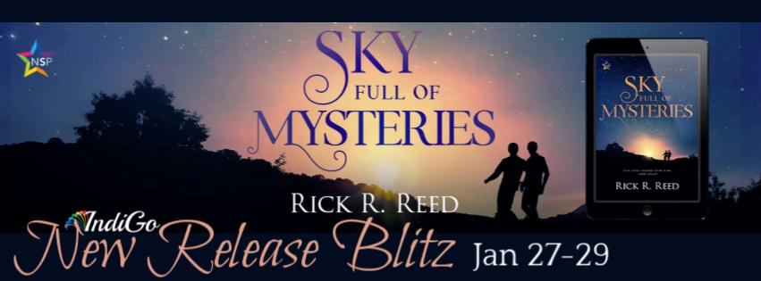 Rick R. Reed - Sky Full of Mysteries RB Banner
