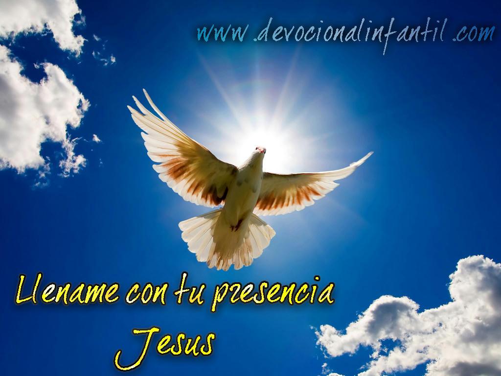 Llename con tu presencia Jesús – Tarjeta