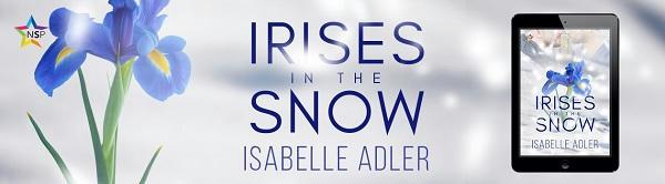 Isabelle Adler - Irises in the Snow NineStar Banner