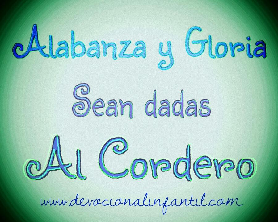 Alabanza y Gloria – Tarjeta