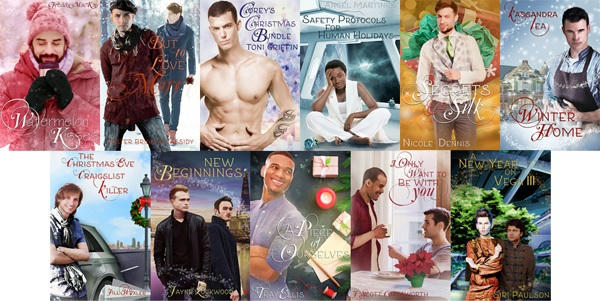 MCB Holiday books, Winter Collection all-covers m