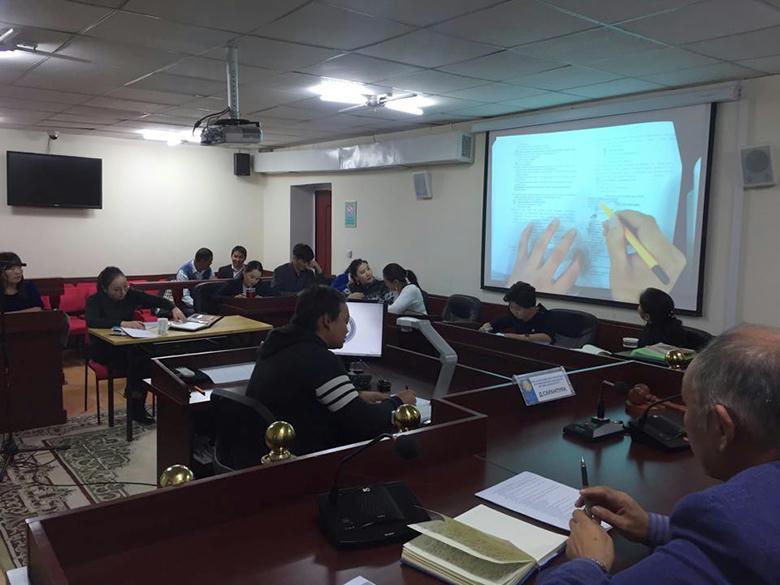 Шүүхийн захиргааны ажилтнуудад мэдээллийн технологийн ур чадварыг дээшлүүлэх сургалт зохион байгуулав