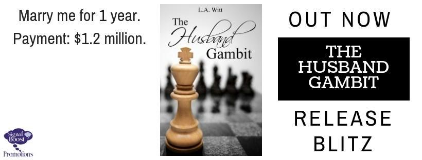 L.A. Witt - The Husband Gambit RBBanner