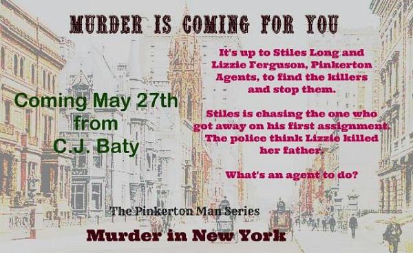 C.J. Baty - Murder in New York Promo 03