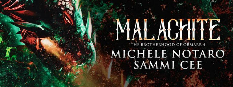 Michele Notaro & Sammi Cee - Malachite Banner