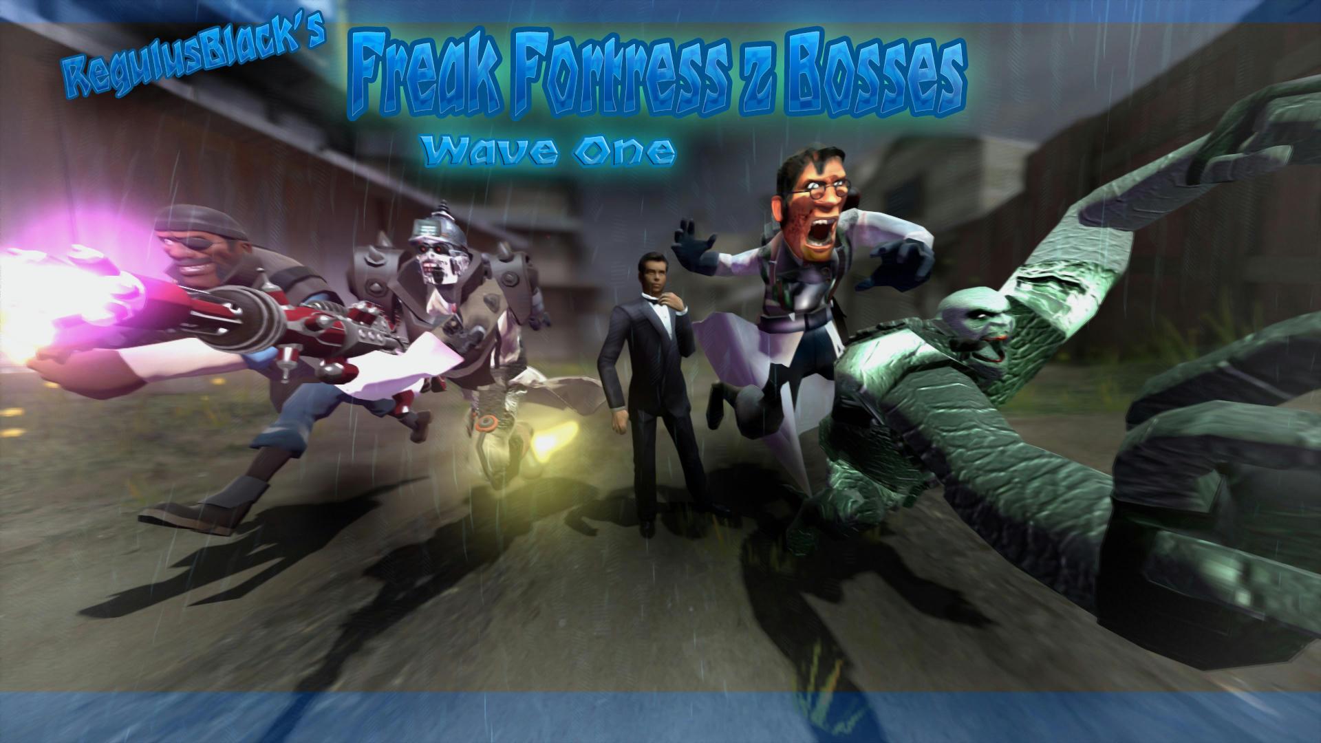 FF2] RegulusBlack's Freak Fortress 2 Bosses: Wave One