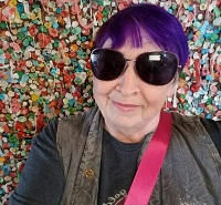 Janice Jarrell purple hair