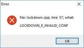 Fix Provision.cpp57 Error lockdown.cpp57 error