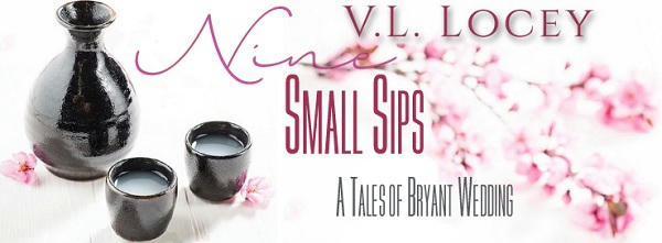 V.L. Locey - Nine Small Sips Banner S