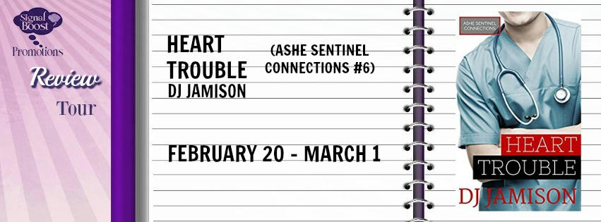 D.J. Jamison - Heart Trouble Banner