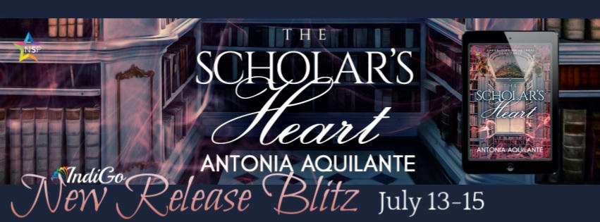 Antonia Aquilante - The Scholar's Heart RB Banner