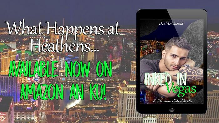 K.M. Neuhold - Inked in Vegas release banner