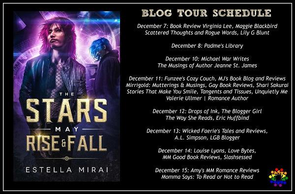 Estella Mirai - The Stars May Rise and Fall SCHEDULE