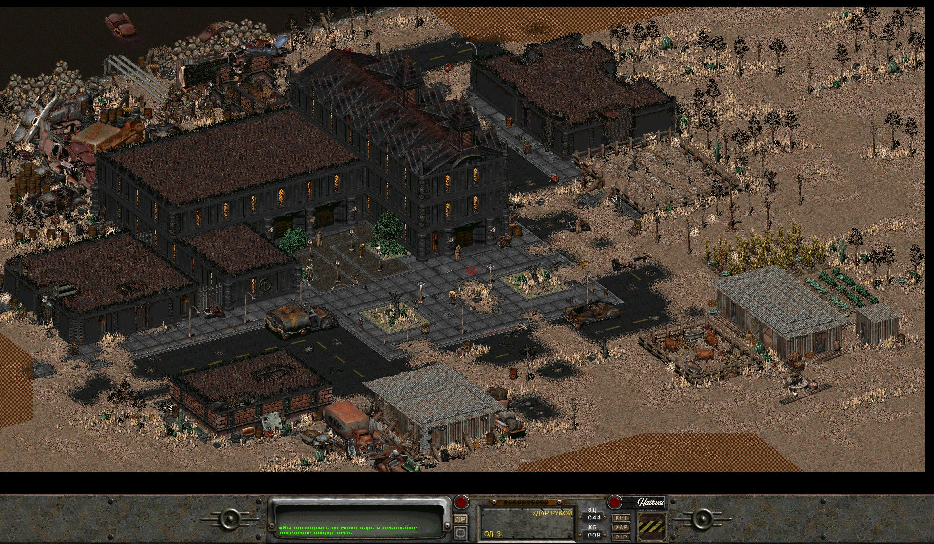 Using Fallout 2 maps for virtual table top RPGs   No Mutants ...