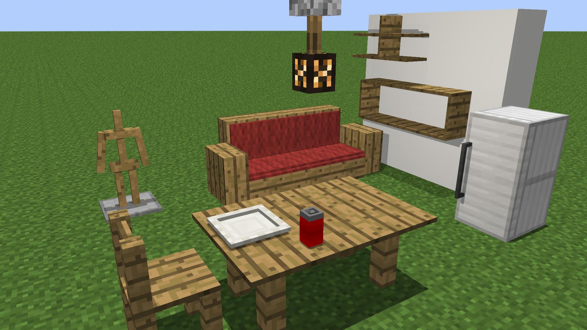 комнда на мебель без модов на майнкрафт 1.7.2 #10