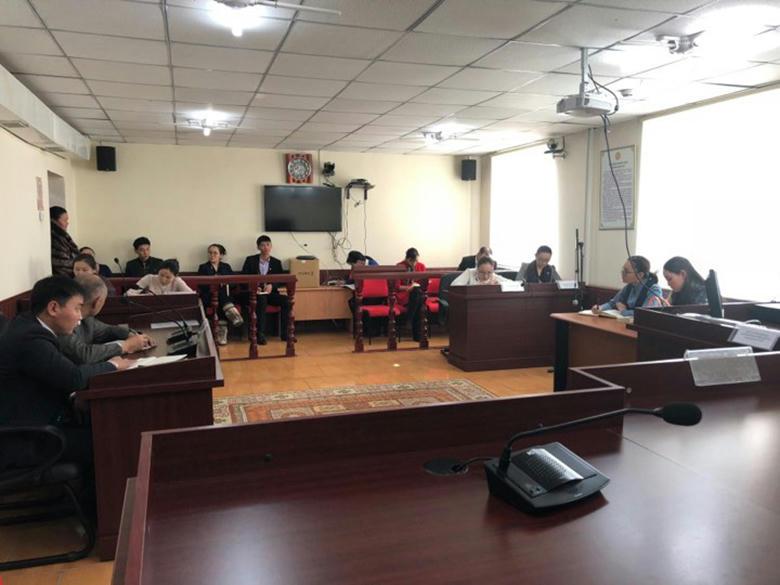 Ерөнхий шүүгч нарт зориулсан уулзалт-ярилцлагын хүрээнд яригдсан асуудлаар мэдээлэл хийв.