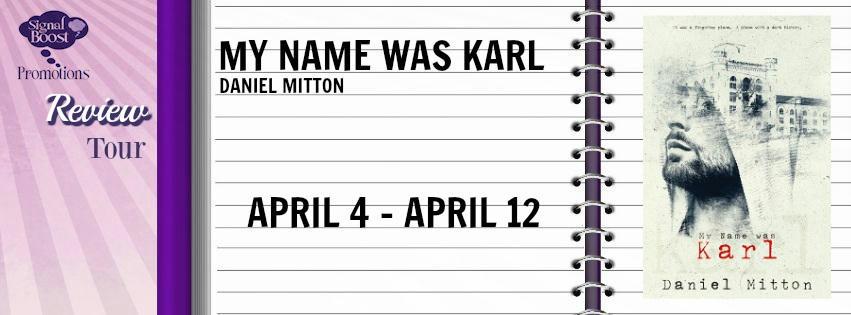 Daniel Mitton - My Name Was Karl BT Banner
