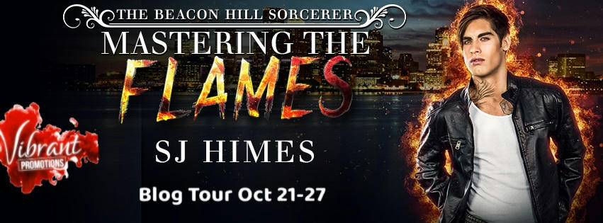 S.J. Himes - Mastering the Flames Tour Banner