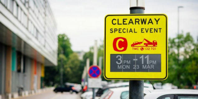 Sydney Installs the 'Worlds First' E ink Parking Signs Around the City