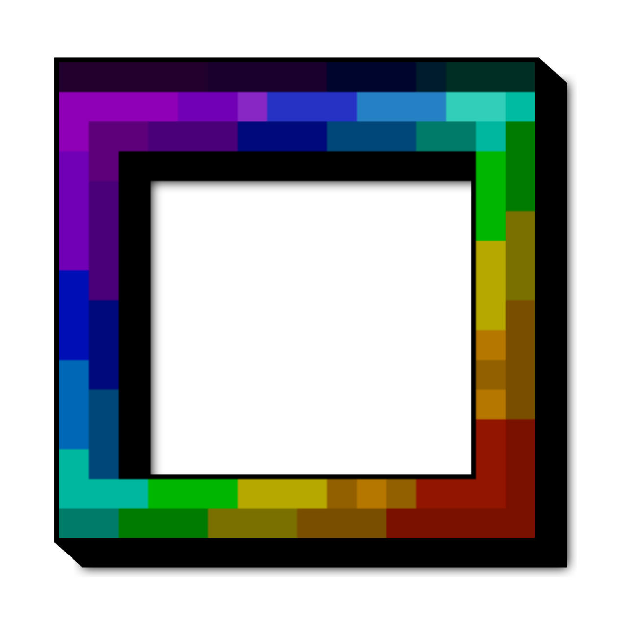 RGB / Rainbow Hotbar