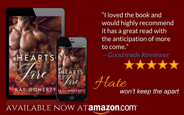 Kay Doherty - Hearts on Fire Teaser Graphic