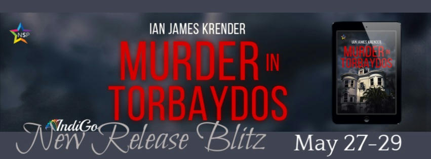 Ian James Krender - Murder in Torbaydos RB Banner