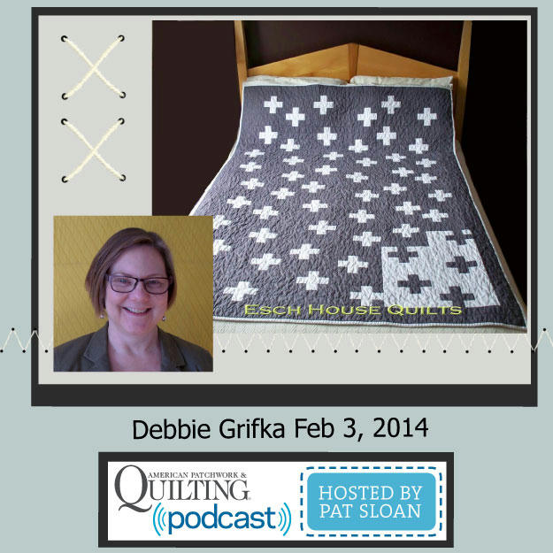 Guest on American Patchwork & Quilting Radio, Hosted by Pat Sloan. Click here to learn more.