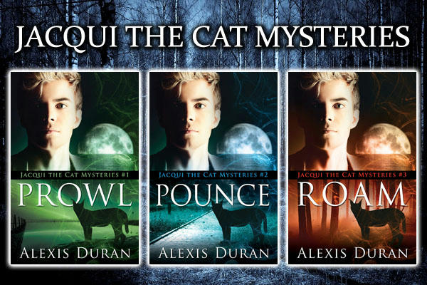 Alexis Duran - Jacqui the Cat; Prowl COVERS - Series