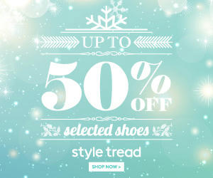 Styletreads Half Price Sale on Selected Shoe Styles