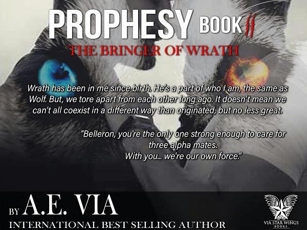 A.E. Via - Prophesy Book #2 The Bringer of Wrath Promo 5 R&BT
