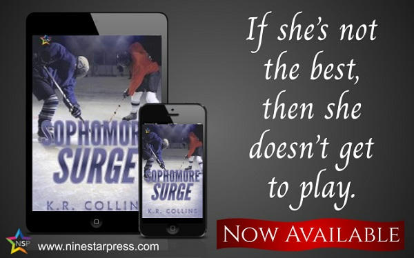K.R. Collins - Sophomore Surge Now Available
