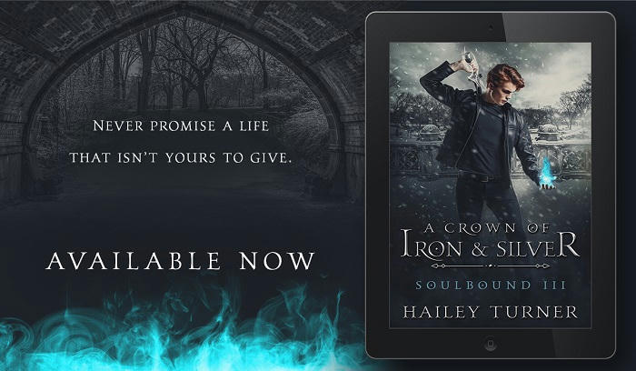 Hailey Turner - A Crown of Iron and Silver Promo 2