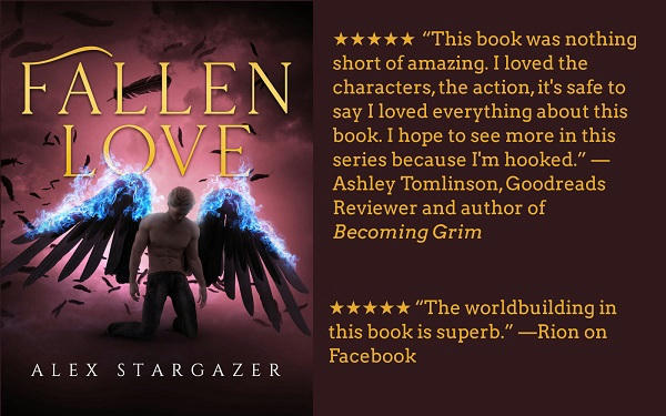 Alex Stargazer - Fallen Love graphic
