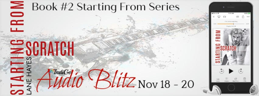 Lane Hayes - Starting From Scratch Audio Banner