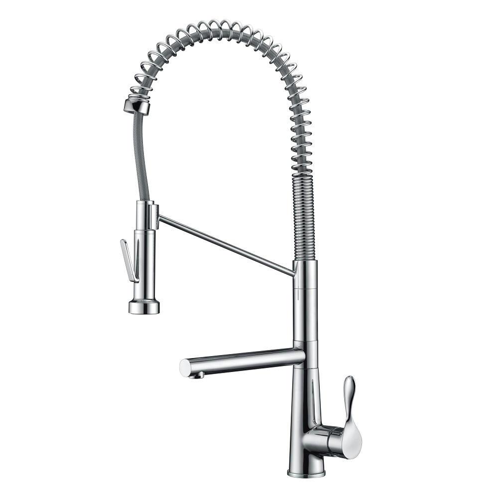 AB50 3787C Spring Kitchen Faucet, Chrome