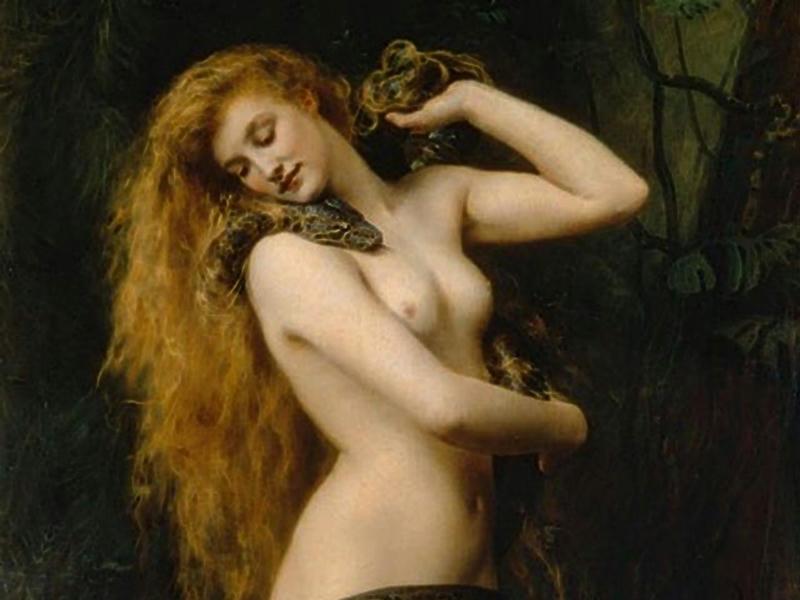La rebelión feminista de Lilith o retando a Adán