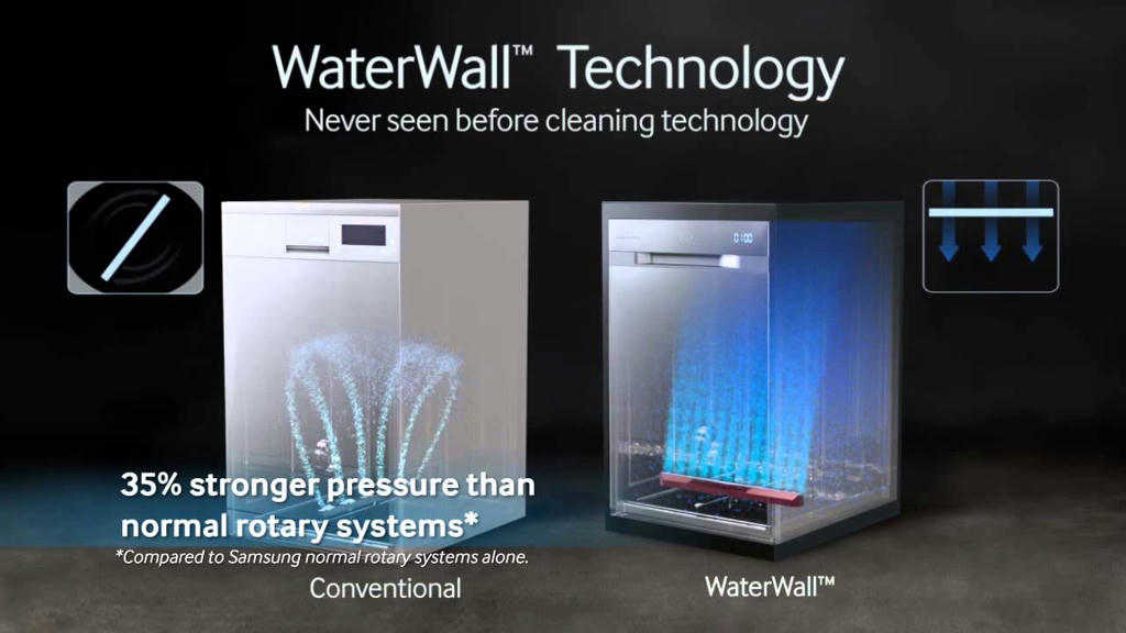 Appliances Online Coupon Gets You $100 Off Latest Tech Samsung WaterWall Dishwasher