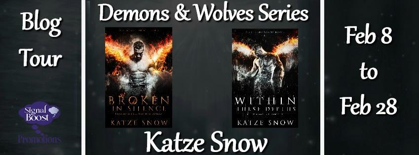 Katze Snow - Demons & Wolves BRBanner
