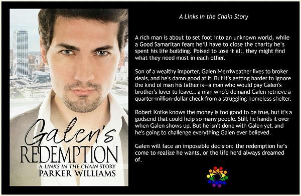 Parker Williams - Galen's Redemption BLURB
