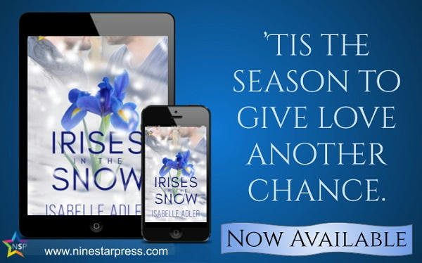 Isabelle Adler - Irises in the Snow Now Available